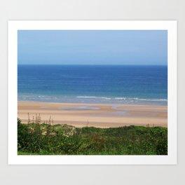 Looking at the Beach Art Print