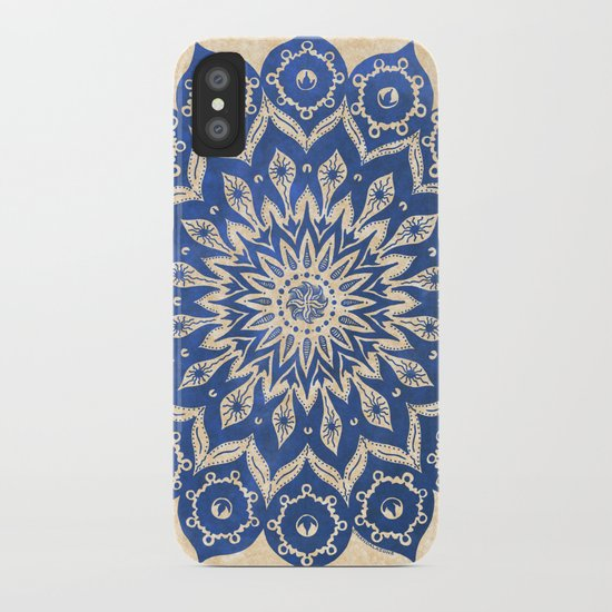 ókshirahm sky mandala iPhone Case
