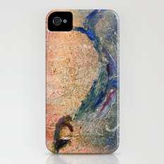 Humpback Whale and Calf iPhone (4, 4s) Slim Case