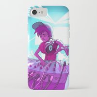 dj iPhone & iPod Cases featuring DJ by Pere Devesa