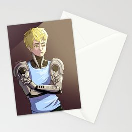 Genos - Red Stationery Cards