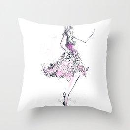 Belle Throw Pillow