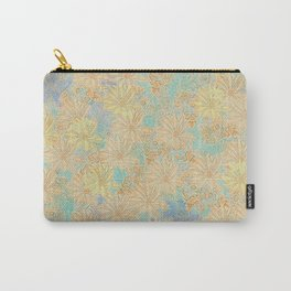 Antique Floral Good Old Days (plain) Carry-All Pouch