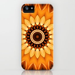 Mandala egypt sun no. 2 iPhone Case
