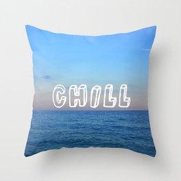 chill Throw Pillow