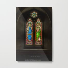 Pray For The Soul Metal Print