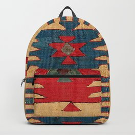 Parmakli Kütahya West Anatolian Kilim Print Backpack