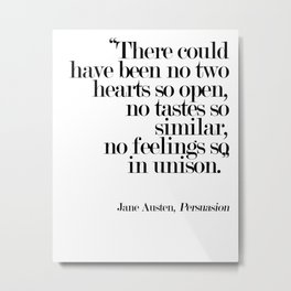 There Could Have Been No Two Hearts Metal Print