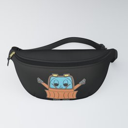 Snow-Removal-Machine Egg Fanny Pack