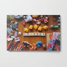 Friends Games Metal Print