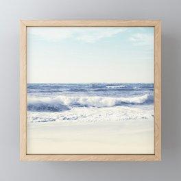 North Shore Beach Framed Mini Art Print