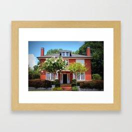Location House Framed Art Print