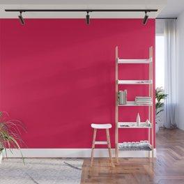 Dancing Color Mandala ~ Red-violet Wall Mural