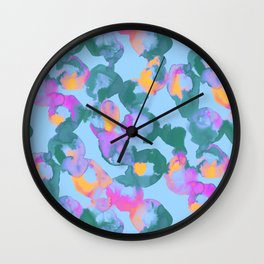 Beta Blue Wall Clock