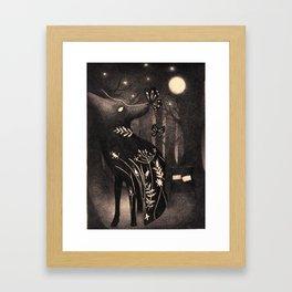 Howlite Framed Art Print