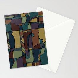 String Symphony  Stationery Cards