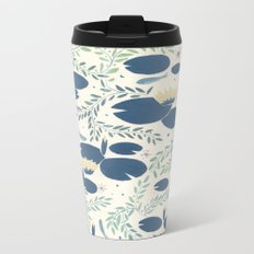 waterlilies Metal Travel Mug