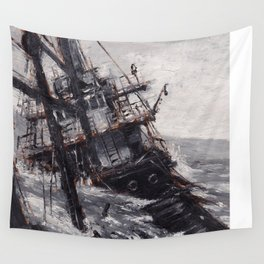 All Hands On Deck Wall Tapestry
