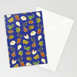 Cute animal pattern Stationery Cards