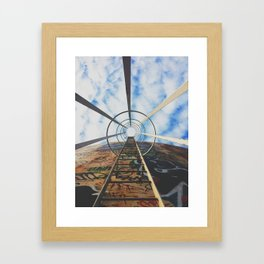 Up The Rabbit Hole Framed Art Print