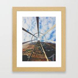 Up The Rabbit Hole Framed Art Print