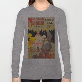 Vintage poster - Toulouse Lautrec Long Sleeve T-shirt