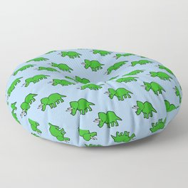Cute Triceratops pattern Floor Pillow