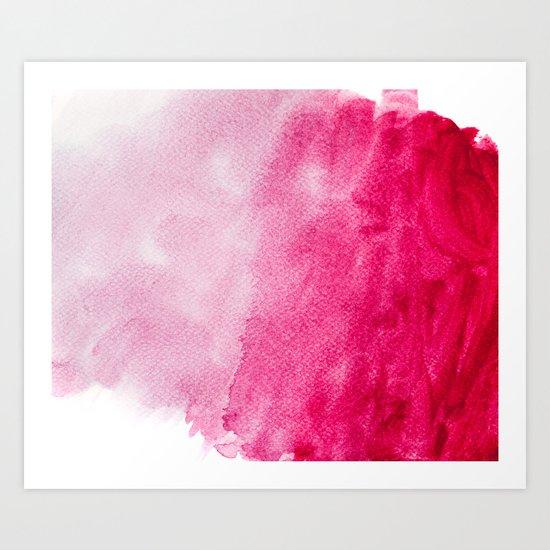 Hopeless, Romantic And Pink #decor #buyart #society6 #art #prints Art Print