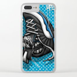 Sneaker Smoké Blue Royal Stain Clear iPhone Case