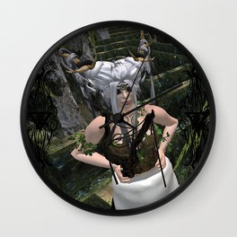 Conquer The Labyrinth Wall Clock