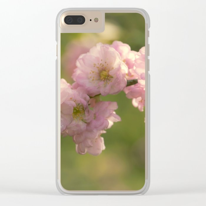Almondblossoms in LOVE - Cherryblossom Flower Floral Clear iPhone Case