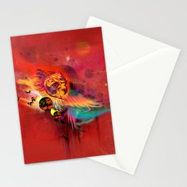 Uncaged Stationery Cards