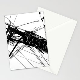 Wires #2 Stationery Cards
