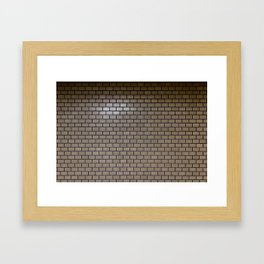 Harajuku Station wall Framed Art Print