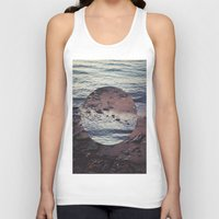 circle Tank Tops featuring CIRCLE by Julia Yusupov