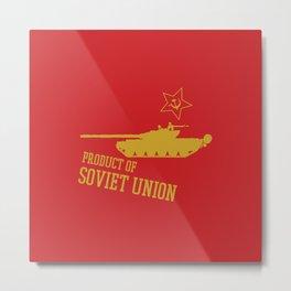 T-72 (Product of SOVIET UNION) Metal Print