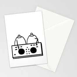 DJ Boobies Party On Stationery Cards