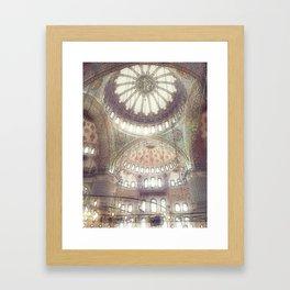 Enchanting Mosque Framed Art Print
