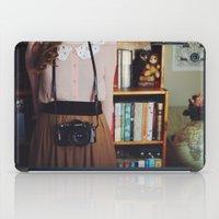 camera iPad Cases featuring camera by Jazza Vock
