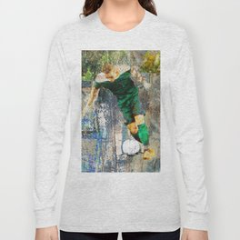 Soccer Player Art Long Sleeve T-shirt