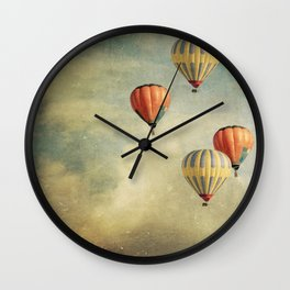 Tales Of Far Away Wall Clock