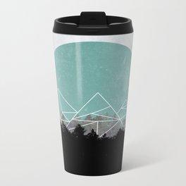 Woods Abstract 2 Metal Travel Mug