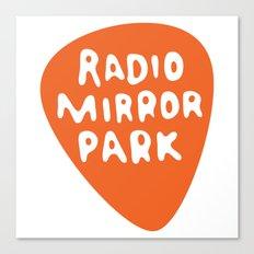 Radio Mirror Park Canvas Print