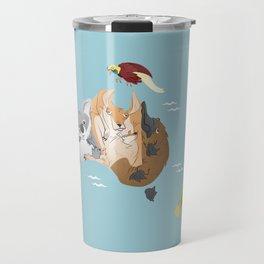 Beastly Oceania Travel Mug