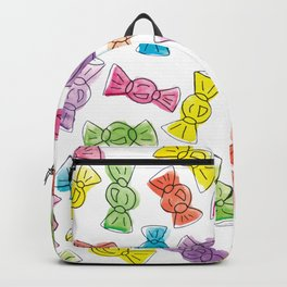Watercolour Candy  Bonbon Sweets Falling Backpack