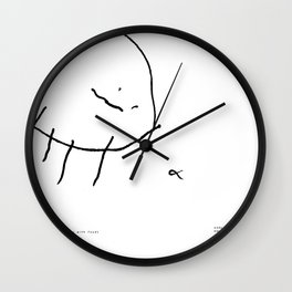 [spider with food] - nadya 3 yr Wall Clock