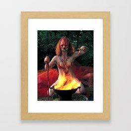 The Daughter of Wands Framed Art Print