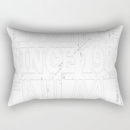 Twins-Since-1983---34th-Birthday-Gifts Rectangular Pillow