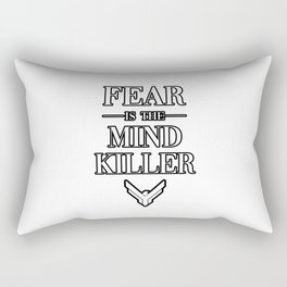 Fear is the Mind Killer Dune 2020 Quote Rectangular Pillow