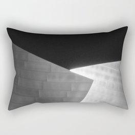 Wo die Menschen ohne Kopf weiter mit Musik zu hören Rectangular Pillow